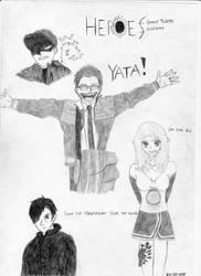 Heroes by jet-kast