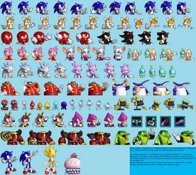 Sonic Colors Cutscene Sprites by TrishRowdy