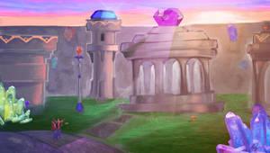 Spyro 2- Glimmer by superhermit