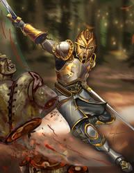 Swordsman by superhermit