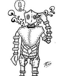Robot by 123nukume