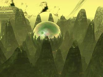 Yellow Mist by djbeyonder