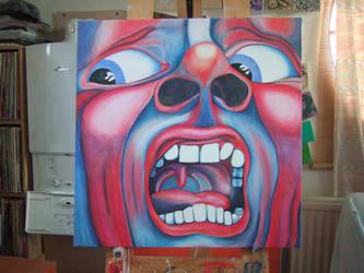 King Crimson album cover by andysmoke