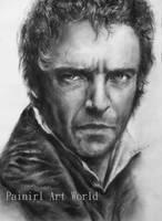 Les Miserables - Hugh Jackman by Painirl