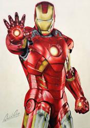 Iron Man by Daviddiaspr