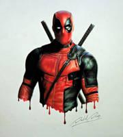 Deadpool by Daviddiaspr
