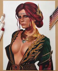 Triss Merigold by Daviddiaspr