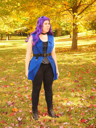 Abigail from Stardew Valley by WhimsicalSquidCo