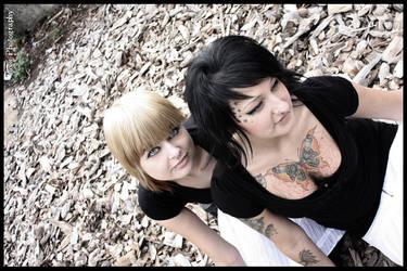 Anne and Toni V by Blackscorpio