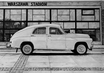 Warszawa M-20 Garbus by kharcix