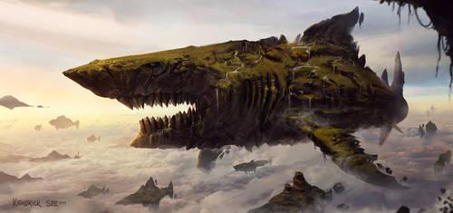 Shark Isle by SourShade