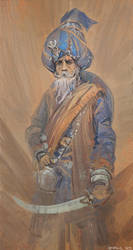 Blue Turban by SourShade