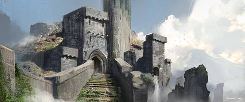 Castle Ruins by SourShade