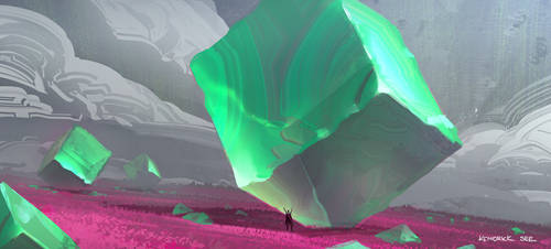 Gelatinous Cube by SourShade