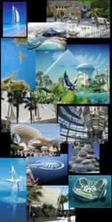 Tropical Techno Influences by thomastapir