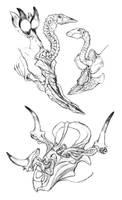 Explodasaurs by thomastapir
