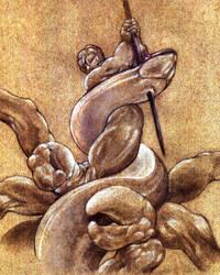 Laocoon's Vengeance by thomastapir
