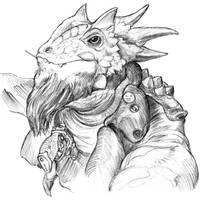 Lounge Lizard by thomastapir