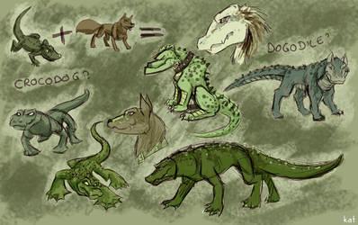 crocodog - dogodile by KatCardy