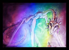 TehBehtheh - Rainbow Goddess by KatCardy