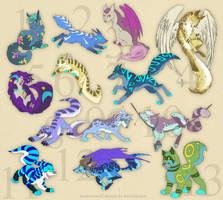 DreamWolf Doodles by KatCardy