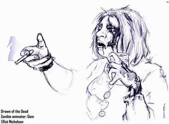 DOD: Zombie Portrait - Gemma by KatCardy