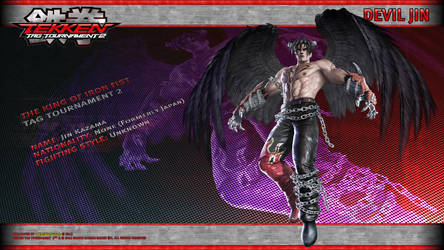 TTT2 Devil Jin Wallpaper by werewolfgold