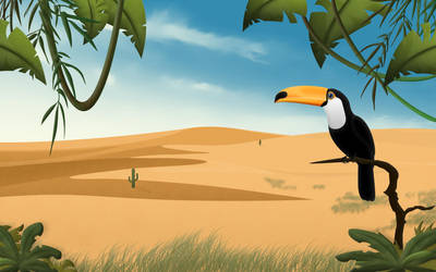 Toucan Widescreen by Sed-rah