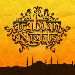 Arabian Nights Logo 2.0 by Sed-rah
