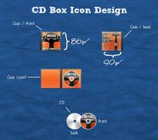 CD Box Icon by Sed-rah