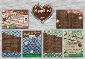 O zapft is Flyer Pack by Sed-rah