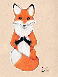 Red fox by wilder