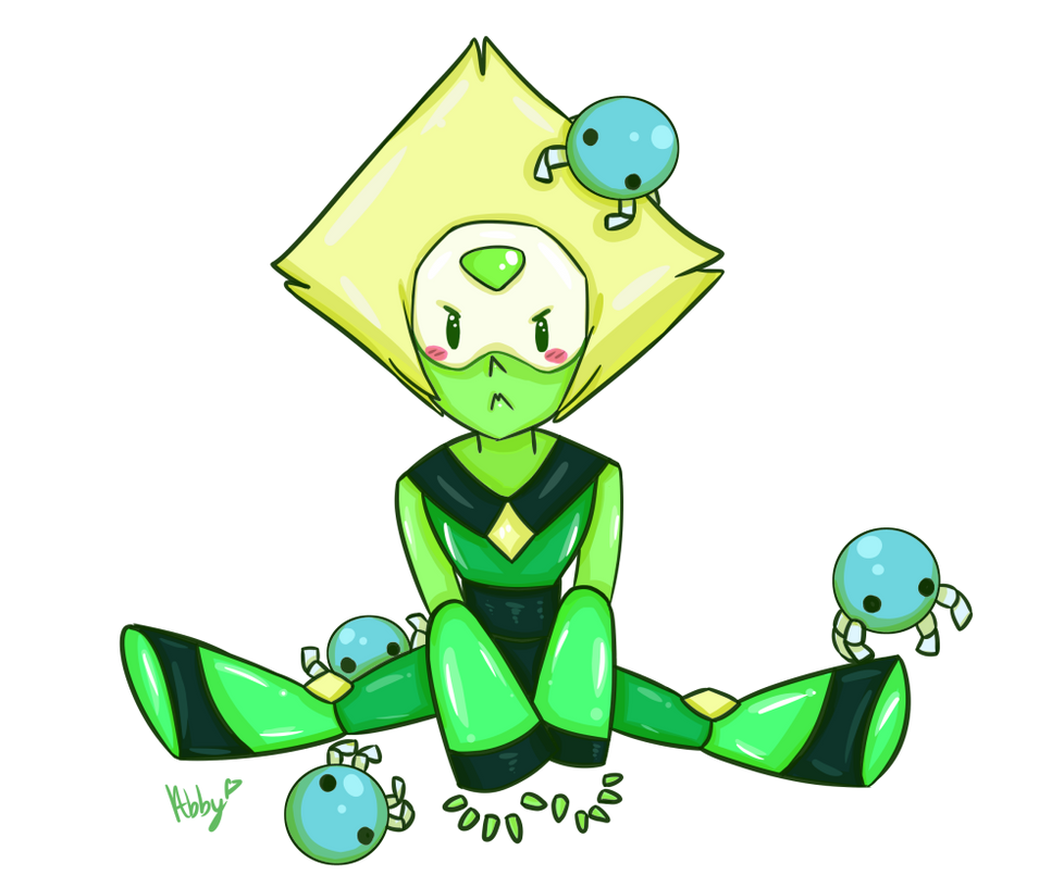 Drew Peridot and her babies ^_^