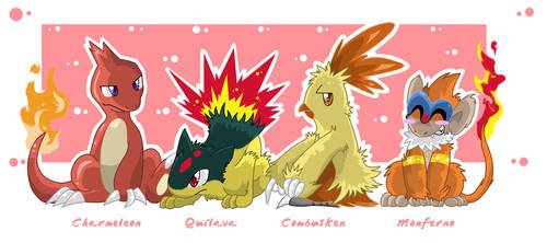 Fire Starters evolved by SoftMonKeychains