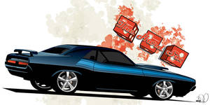 1970 Challenger TA by cityofthesouth