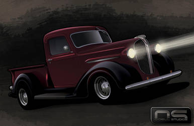 '38 Plymouth Pickup by cityofthesouth