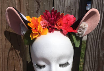 True tiger floral headpiece  by KatWithKnives