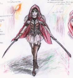 Red Riding Hood - own version by punkandartStJimmy