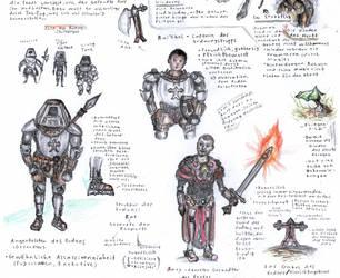 Original Characters - Fantasy Universe by punkandartStJimmy