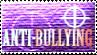 Anti Bullying Stamp by Morgan-the-Rabbit