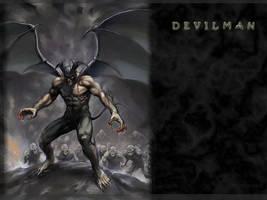 DEVILMAN WALLPAPER by akira-devilman-fudo