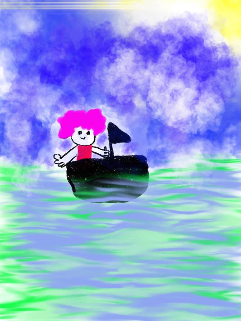 The sea by doreenpayne
