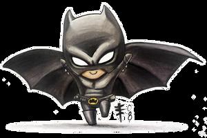 Chibi Batman -Fandemonium 08- by AnimeGirlMika