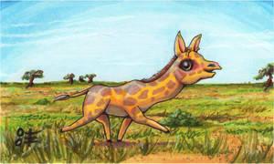 Giraffe for Fern by AnimeGirlMika