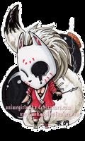 Fox Mask for Ludicrousy by AnimeGirlMika