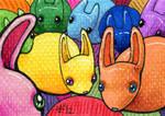FurIdaho ACEO III - Color Buns by AnimeGirlMika