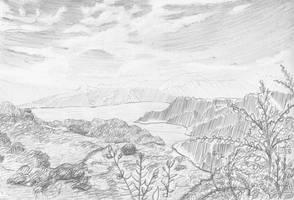 Kikai Challenge 2012 April - Landscape by AnimeGirlMika