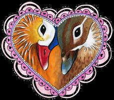 Valentine's Mandarins by AnimeGirlMika