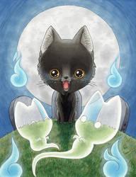 Ghostie Halloween by AnimeGirlMika