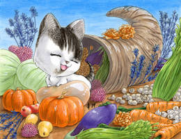 Thanksgiving Kiki by AnimeGirlMika